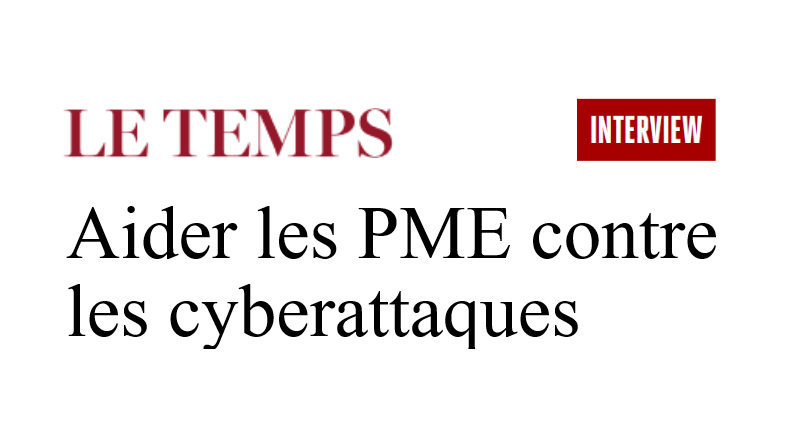 "The daily newspaper ""Le Temps"" interviews the Center for Digital Trust"