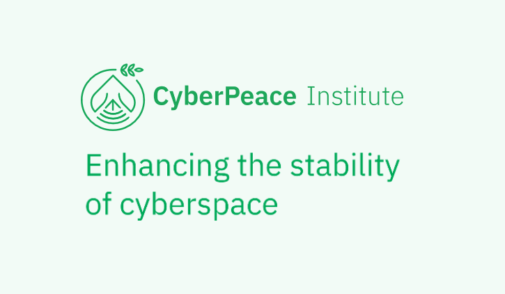 Launch of the CyberPeace Institute in Geneva