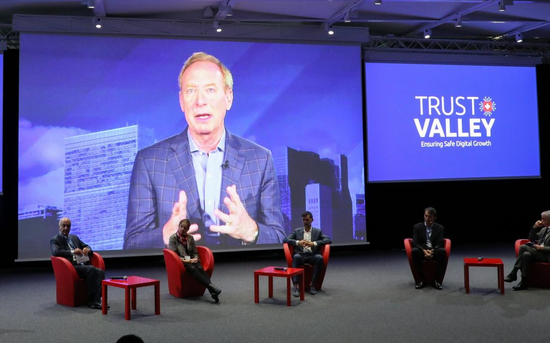 Trust Valley sets off at EPFL